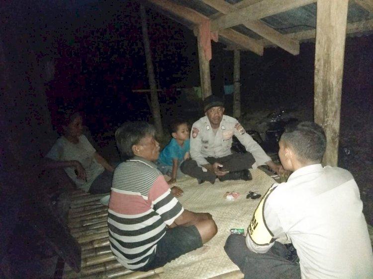 Polsek Lamboya Gelar Patroli Diologis Guna Lebih Dekat Dengan Masyarakat