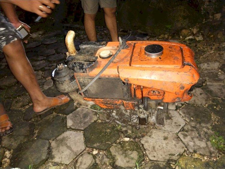 2 Pencuri Mesin Traktor Berhasil Dibekuk Tim Satuan Reskrim & Intelkam Polres Sumba Barat
