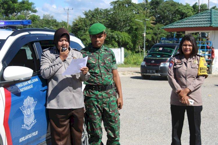TNI POLRI Gencar Lakukan Sosialisasi Antisipasi Penyebaran Covid 19