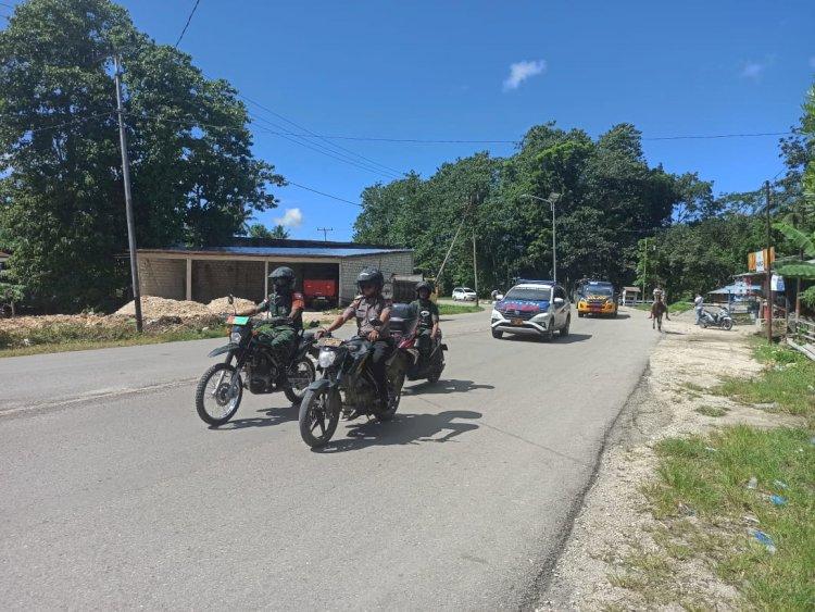Bhabinkamtibmas Sosialisasi Corona   Cegah Penyebaran Covit 19, Bripka Beni Kuswanto Sambangi Desa Taramanu