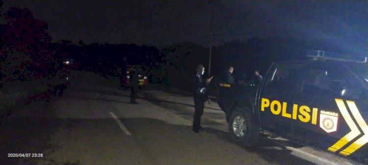 Gelar Patroli Gabungan, Kompol Yohanes Pastikan Tak Ada Aktivitas Berkerumun di Wilayahnya