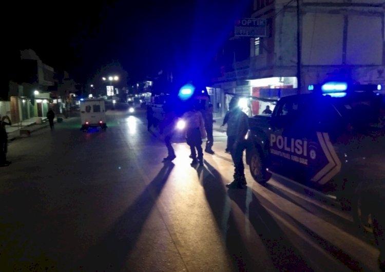 Gelar Patroli Malam, Tim Ops Aman Nusa II Ingatkan Warga Waspada Penyebaran Covid 19