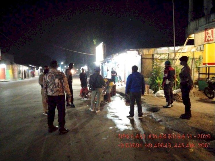 Langkah Preventif Cegah Covid 19, Tim Operasi Aman Nusa II Masih Terlihat Lakukan Patroli dan Imbauan