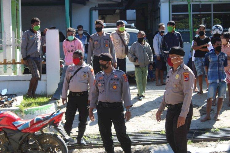 Cegah Covid 19, Tim Ops Aman Nusa II Mengajak Warga Ikut Berpartisipasi
