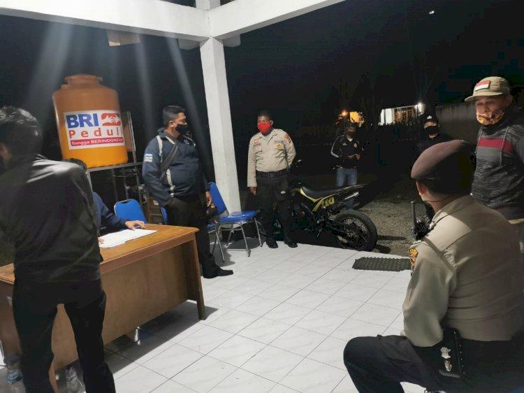 Tim Ops Aman Nusa II Intensifkan Giat Patroli Malam Dan Imbauan Demi Mencegah Covid 19