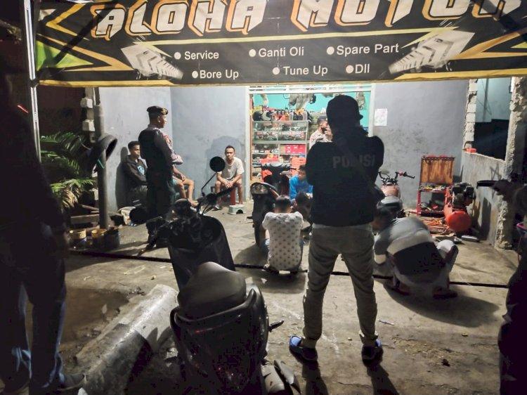 Cegah Covid 19 - Ops Aman Nusa Ajak Warga Bersama - sama Lawan Covid 19