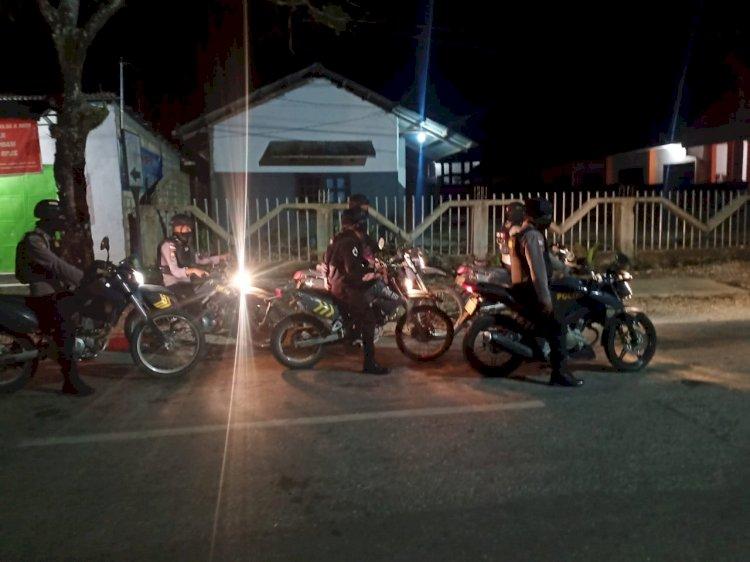 Meminimalisir Tindak Kejahatan, Tim Jaguar Patroli Hingga Subuh
