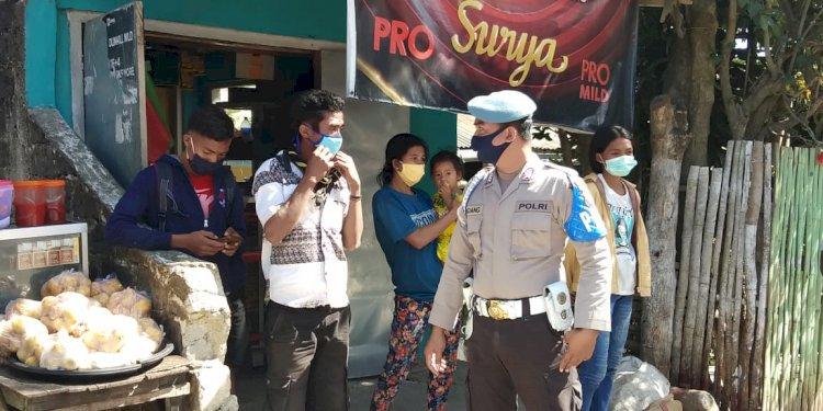Ops Aman Nusa II Ajak Warga Lawan Covid 19 Dengan Taat Pada Protokol Kesehatan