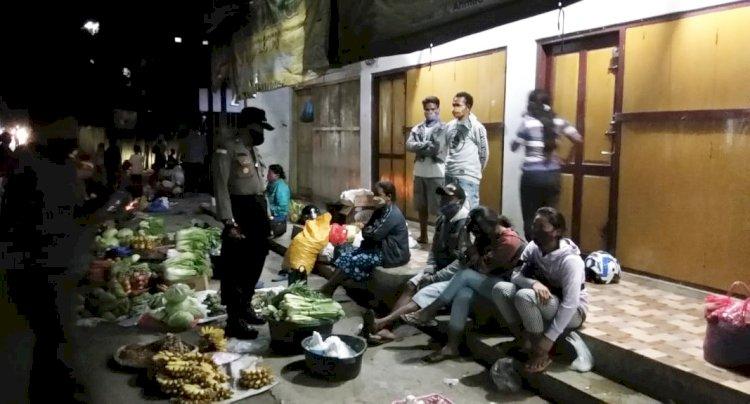Memasuki Fase Adaptasi Kebiasaan Baru, Tim Operasi Aman Nusa ll Ingatkan Warga Untuk Patuhi Protokol Kesehatan Pencegahan Covid-19