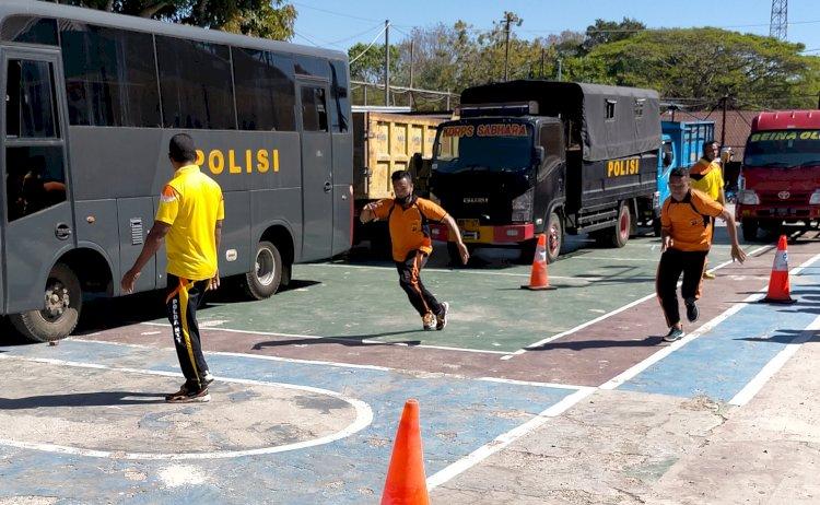 Dihadiri Tim Polda NTT, Polres Sumba Barat Laksanakan Kesemaptaan Jasmani