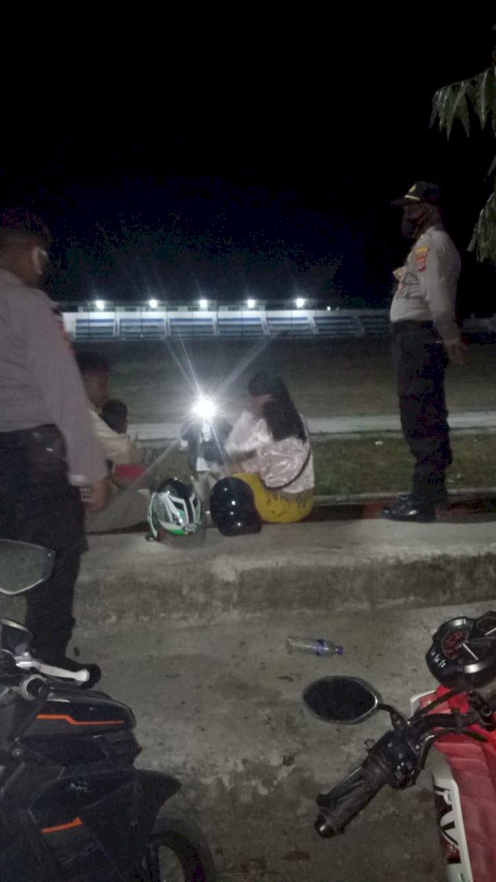 Cegah Covid 19 - Lakukan langkah Preventif,Ops Aman Nusa II Patroli Malam