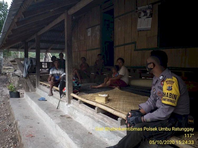 Putus Mata Rantai Penyebaran Covid 19, Brigpol Andreas Gelar 'Door to Door System'