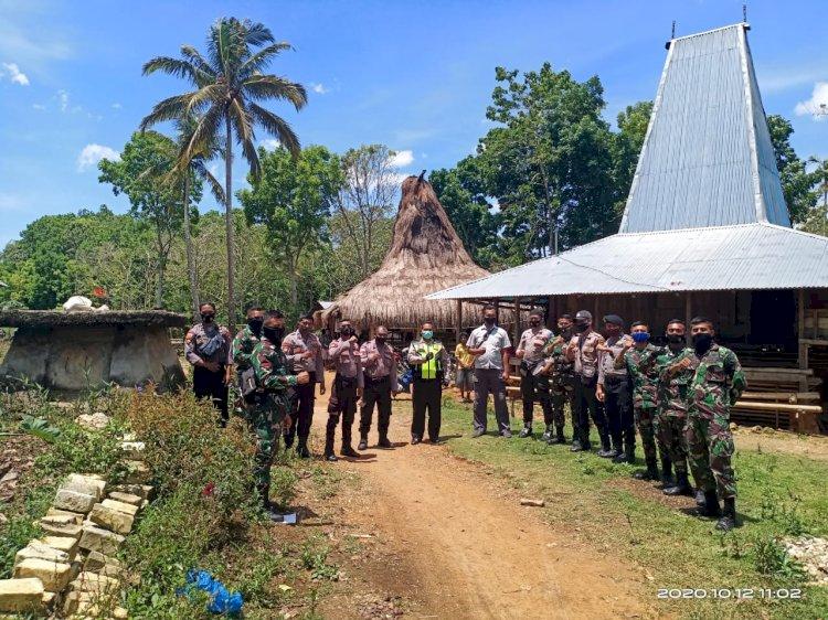 Iptu Mansyur Pimpin Pengamanan Kampanye/Pertemuan Terbatas di Kampung Rabaka & Gollu Wunuta