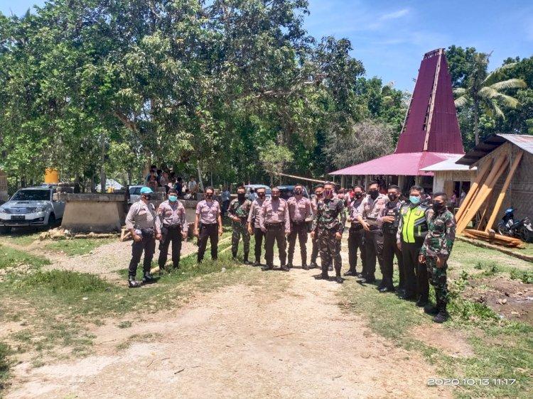 Pimpin Pengamanan Kampanye/Pertemuan Terbatas pada 3 Desa di Kecamatan Loli, Iptu Mansyur Pastikan Pilkada Damai