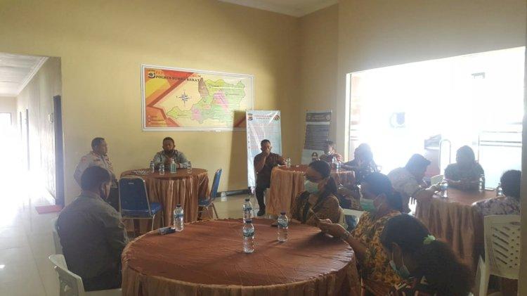 Kapolres Sumba Barat Sambut Kunjungan Pendeta Gereja Bethel Indonesia Waikabubak