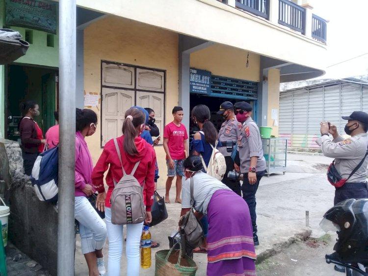Langkah Pencegahan Covid 19 Terus Dilakukan Ops Aman Nusa II
