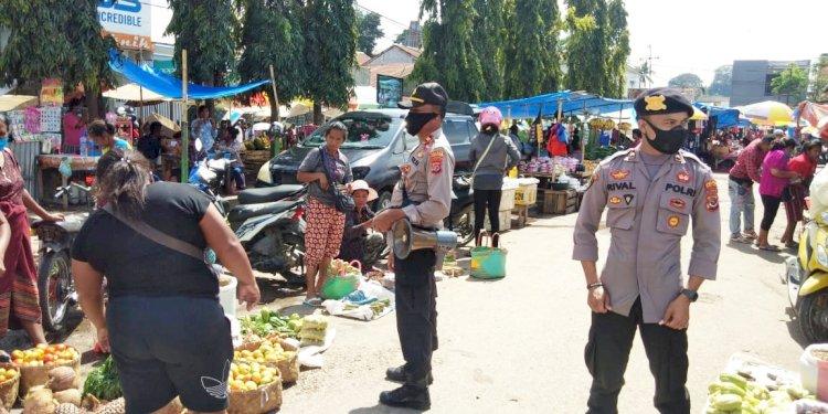 Tim Operasi Aman Nusa ll Kembali Tingkatkan Patroli Diologis Cegah Penyebaran Covid-19