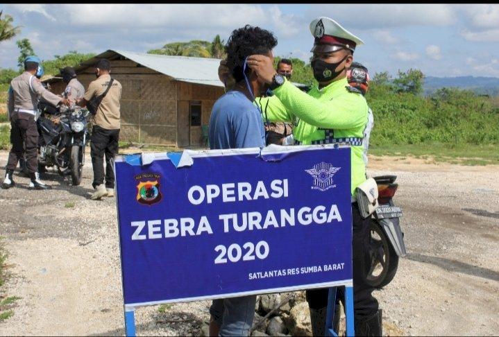 Ops Zebra 2020 - Para Pengendara Diimbau Untuk Tetap Mengindahkan Protokol Kesehatan Dan Mentaati Aturan Lalu Lintas