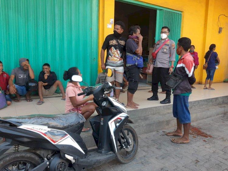 Ops Aman Nusa II Terus Lakukan Imbauan dan Sosialsasi Dalam Mencegah Penularan Covid 19
