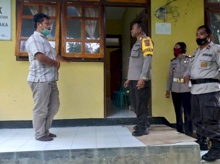 AKP Anthonius Mengga Pimpin Giat Monitoring di Kantor PPK & Panwas Kecamatan Wanukaka