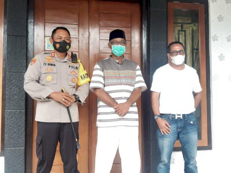 Silaturahmi Kapolres Sumba Barat ke 3 Toga, Pasca Pemungutan & Penghitungan Suara serta Rekapitulasi Tingkat Kecamatan
