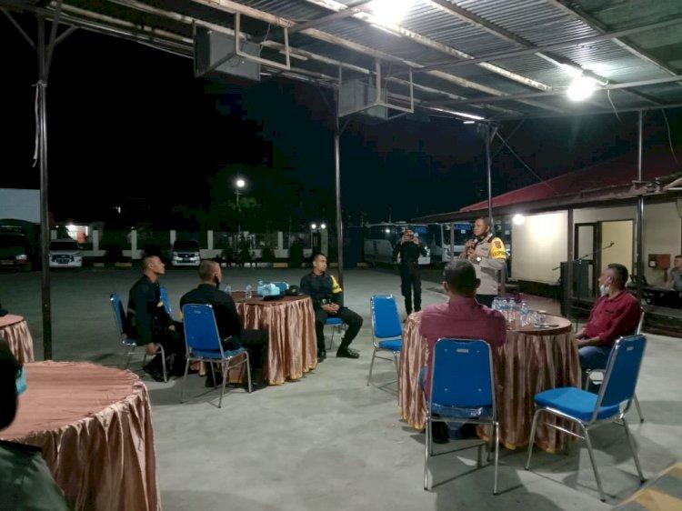 Gelar Syukuran & Silaturahmi, Kapolres Hantar Kepulangan Pasukan BKO Brimob Nusantara & Sumba Barat Daya