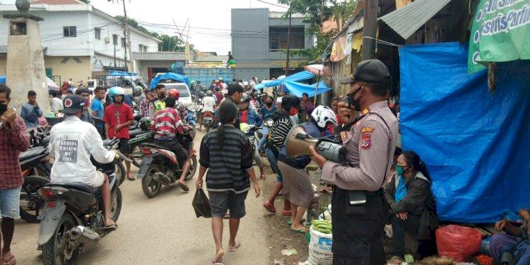 Ops Aman Nusa II Menyampaikan Himbauan Kapolres Sumba Barat Jelang Perayaan Natal dan Tahun Baru