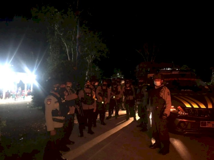 "Sukseskan Rapat Pleno Penetapan Calon Bupati & Wakil Bupati Terpilih, Kapolres Sumba Barat ""Full Power"" Kerahkan 550 Personelnya"
