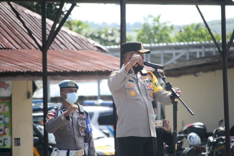 AKBP FX Irwan Arianto, S.I.K., M.H. Sosialisasikan Layanan Call Center 110 POLRI ke Masyarakat