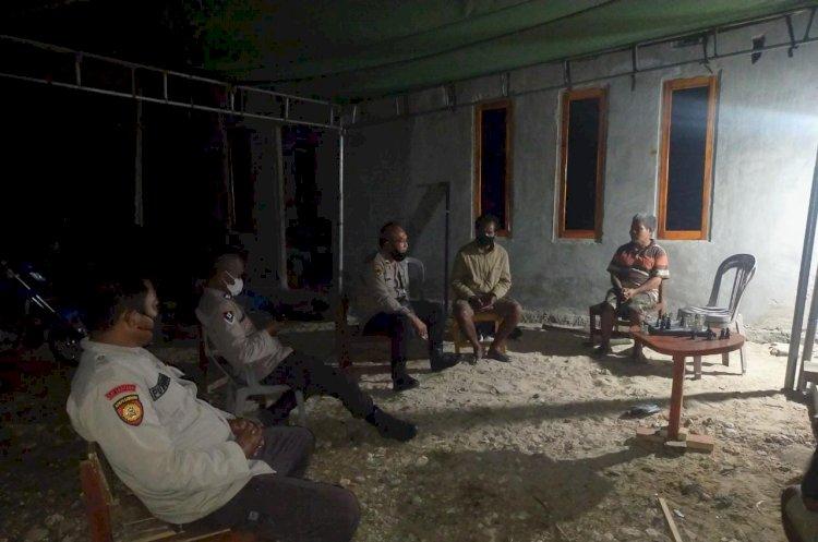 Polsek Lamboya Gencarkan Kegiatan KRYD Dalam Rangka PPKM Darurat Di Kabupaten Sumba Barat