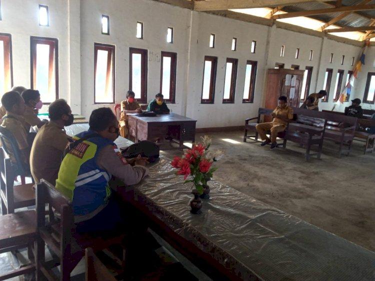 Sosialisasi Penanaman Padi Dan Jagung Desa Bondosula, Bhabinkamtibas Hadir Berikan Imbauan