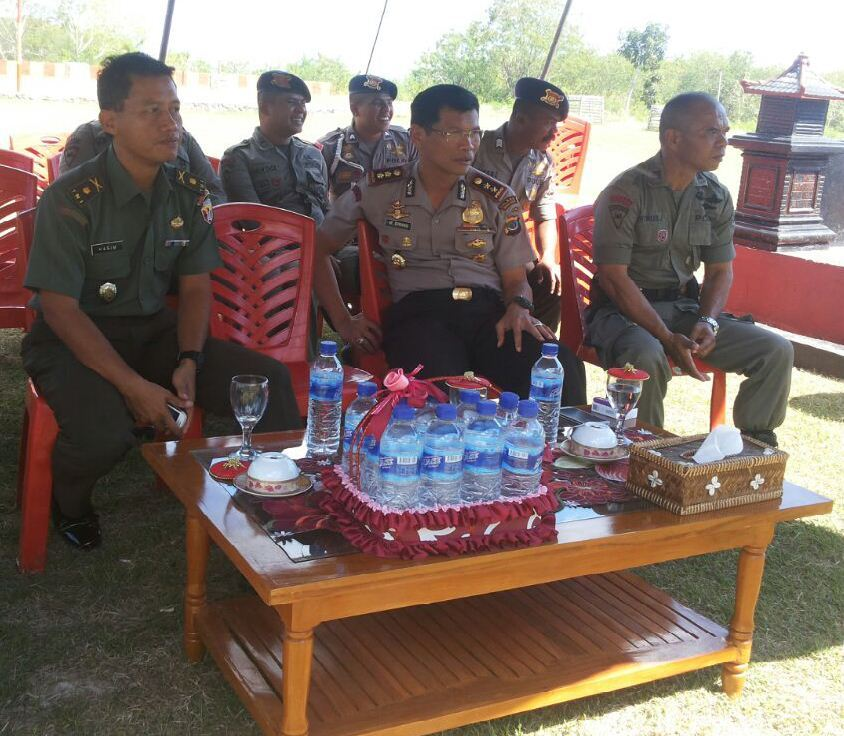 Coffee Morning bersama Bapak Kapolres Sumba Barat di Mako Brimob Subden 4 Den A Pelopor