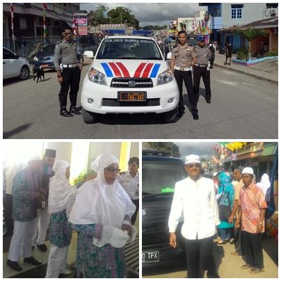 Keberangkatan Jamaah Haji Kabupaten Sumba Barat Kloter 48 Tahun 2016
