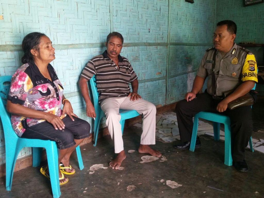 Upaya Sambang Oleh Bhabinkamtibmas BRIGPOL Agus Triyono