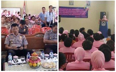 Peringatan HKGB ke-64 Bhayangkari Polres Sumba Barat