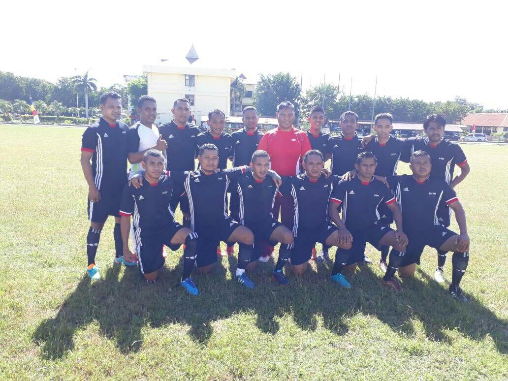 Hari Ke 3 Kapolda Cup, Giliran Tim Sepak Bola Polres Sumba Barat Berlaga