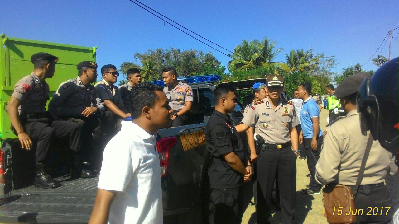 Jelang Hari Raya Idul Fitri 1438 H Kapolres AKBP Muhamad Erwin Pimpin Langsung Gelar Operasi K2YD