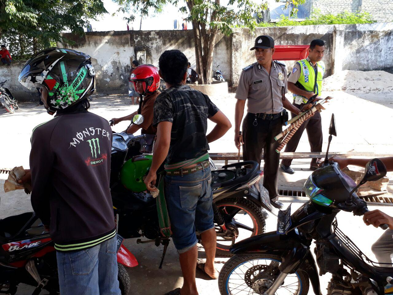 Polsek Katikutana dan Loura Serentak Laksanakan Operasi K2YD