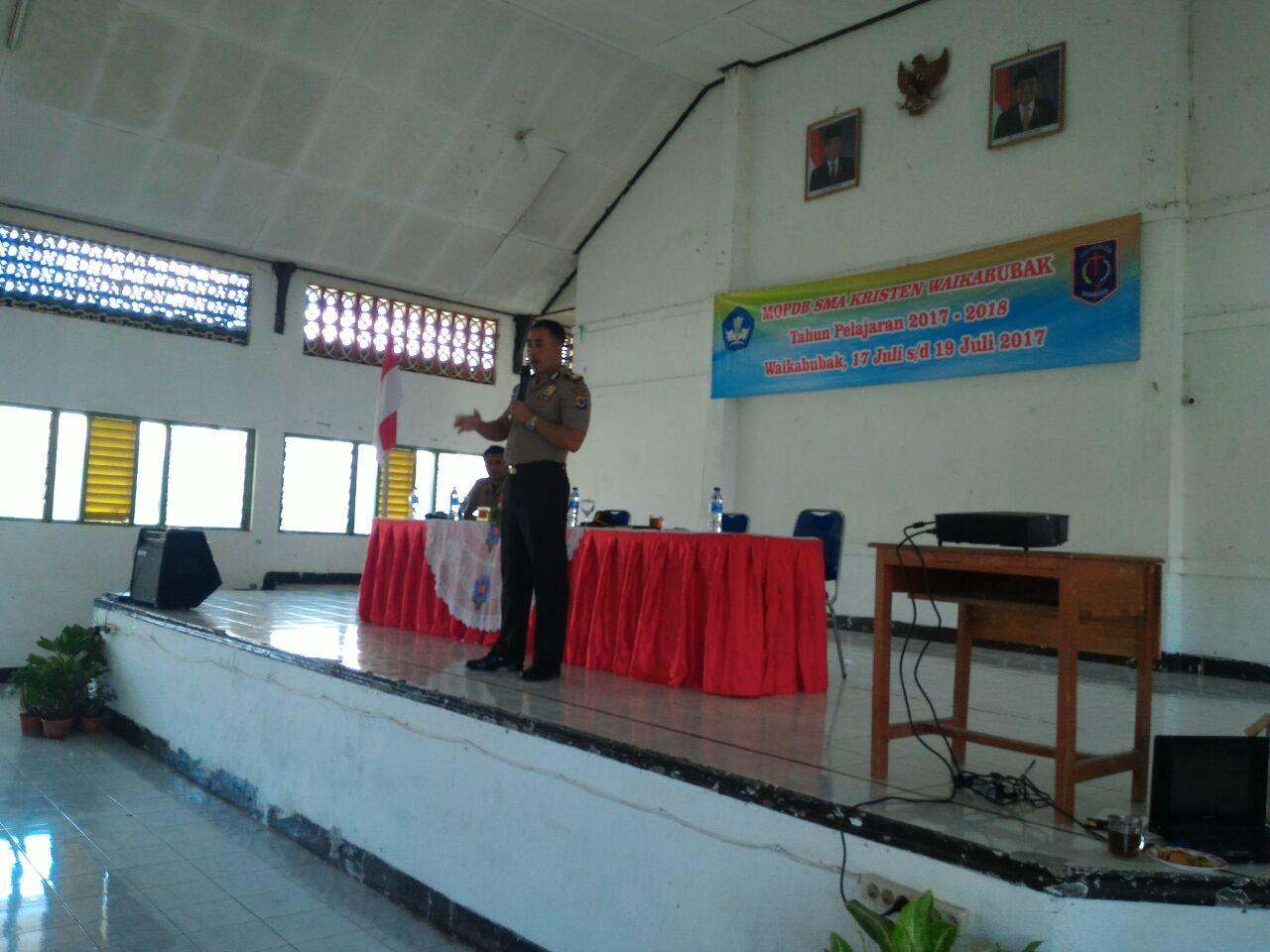 Roadshow   Polres Sumba Barat Usung Tema Kenakalan Remaja