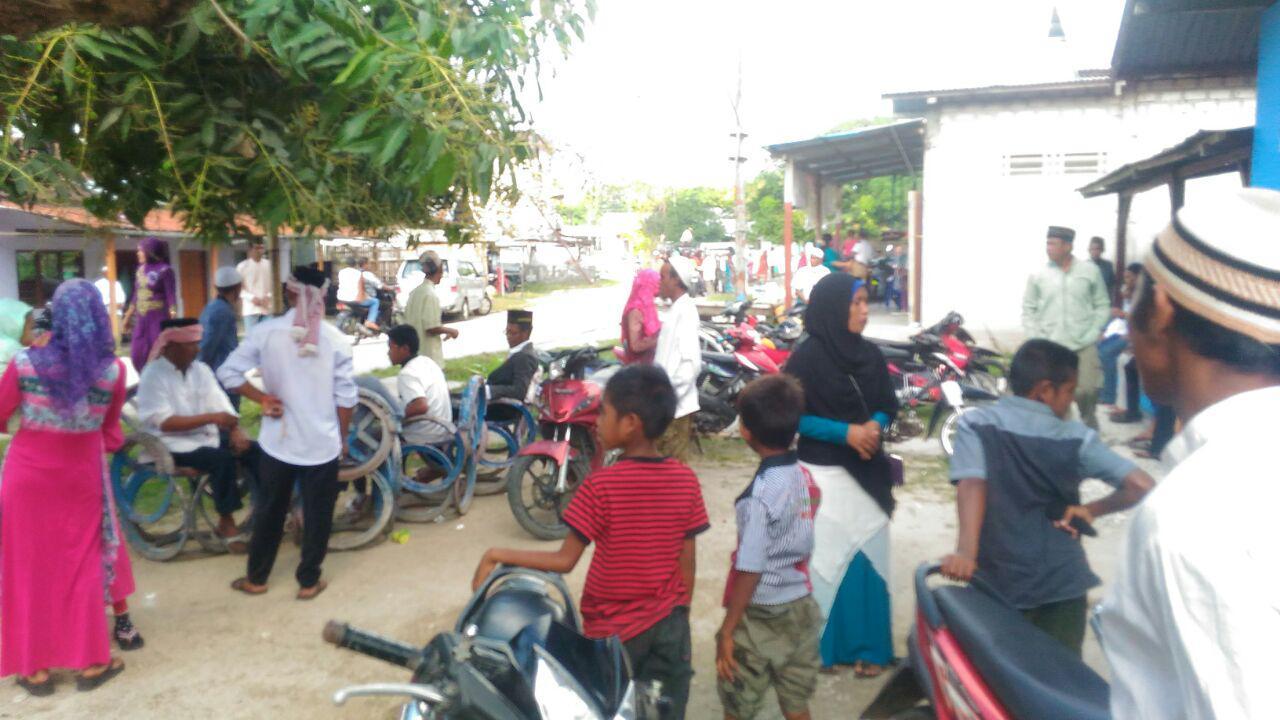Pengawalan dan Pengamanan Rombongan Jemaah Masjid Baiturrahim