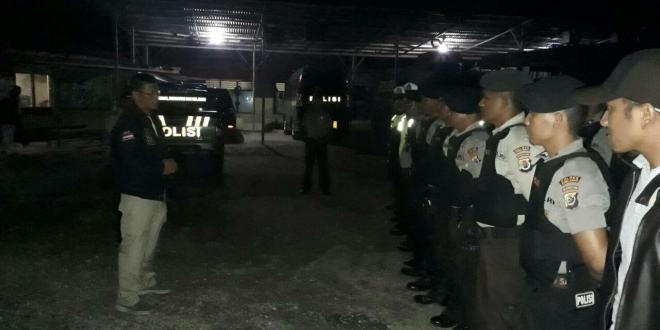 Polres Sumba Barat | Menekan Angka Kriminalitas, Patroli Bersenjatapun di Lakukan