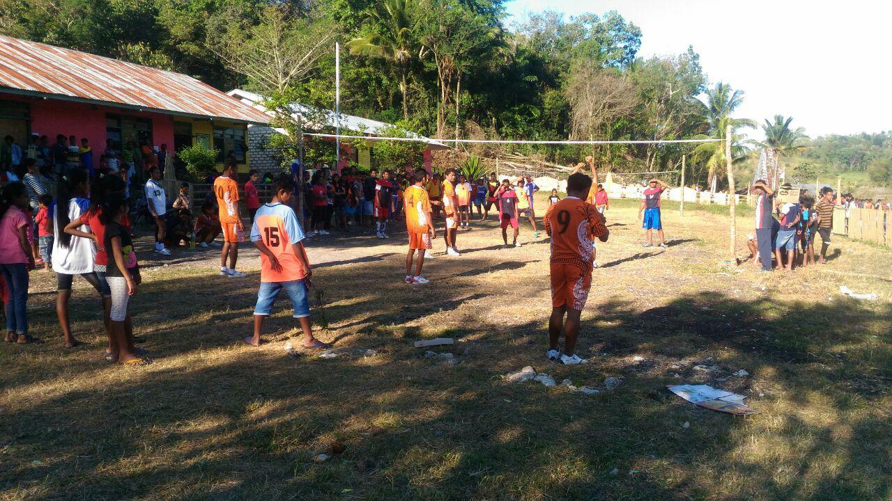 Bhabinkamtibmas | Pengamanan Serta Imbauan Menyambut HUT RI Ke - 72