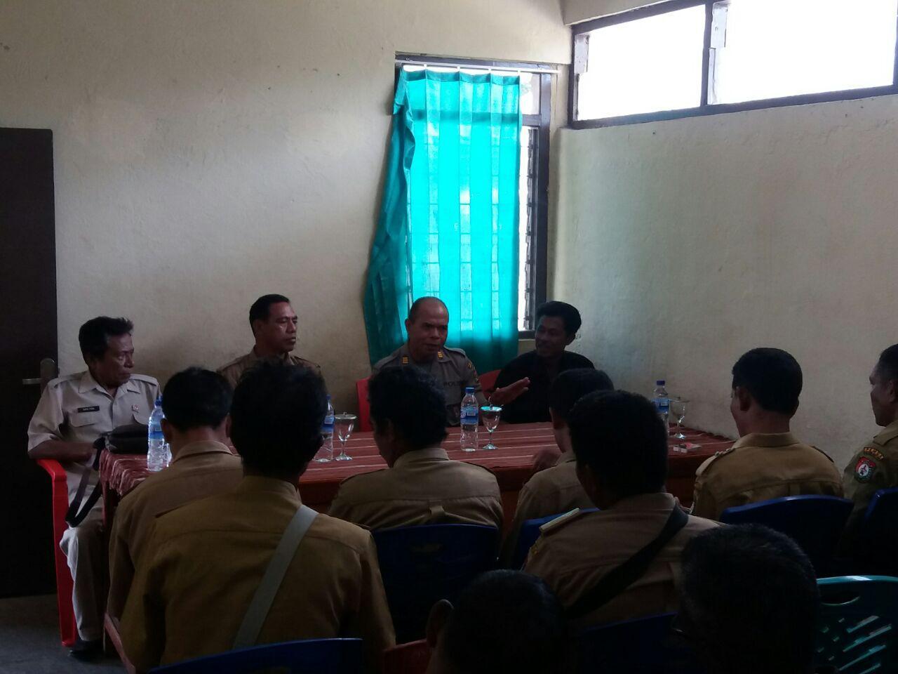 Polsek Wewewa Timur | Koodinasi Menuju Kamtibmas Yang Kondusif