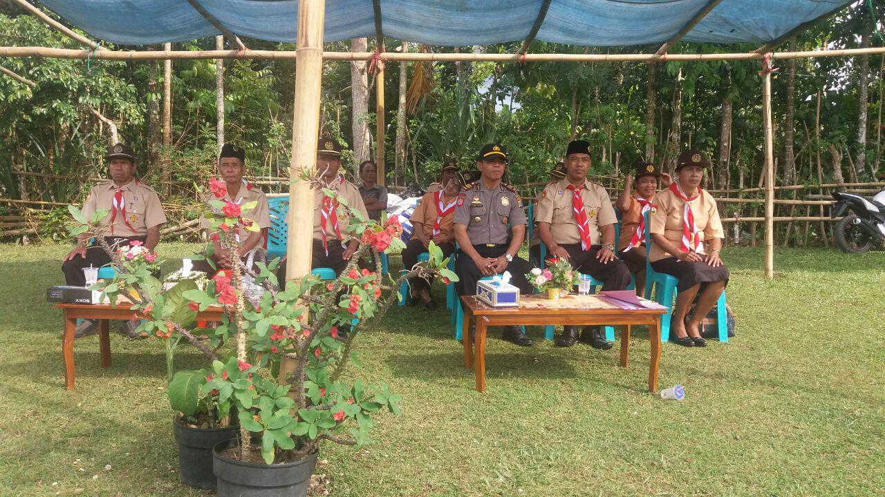 Polsek Wewewa Timur | Partisipasi Dalam Giat Pramuka
