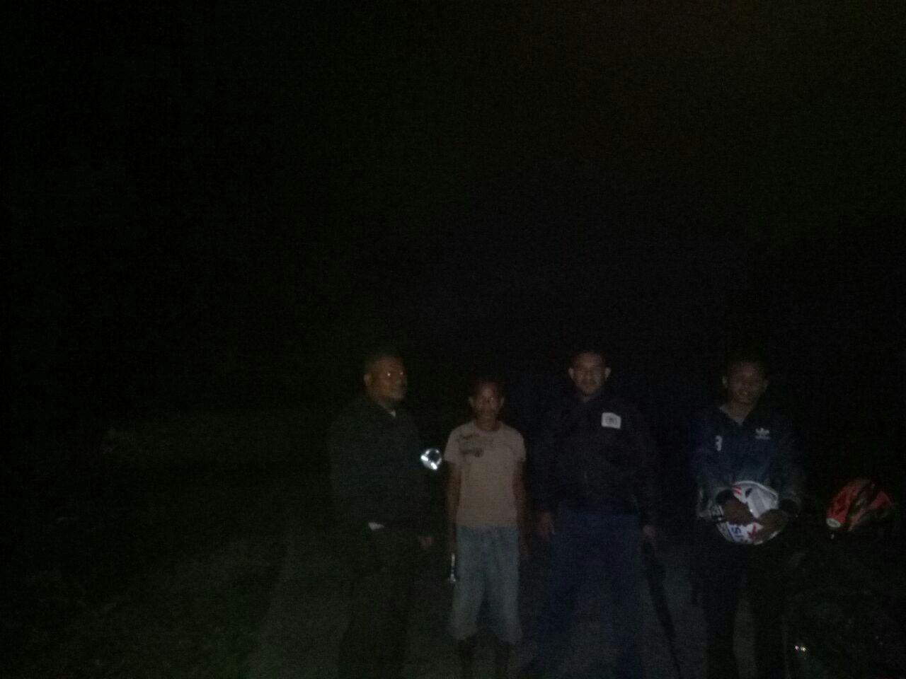 Polsek Kodi Bangedo | Meningkatkan Giat Patroli Malam