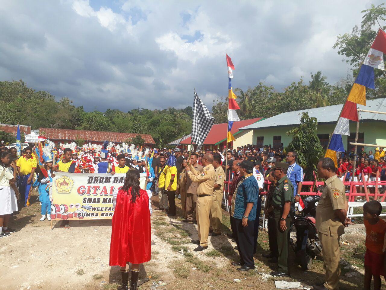 Perayaan Karnaval Menjelang HUT RI  Ke - 72