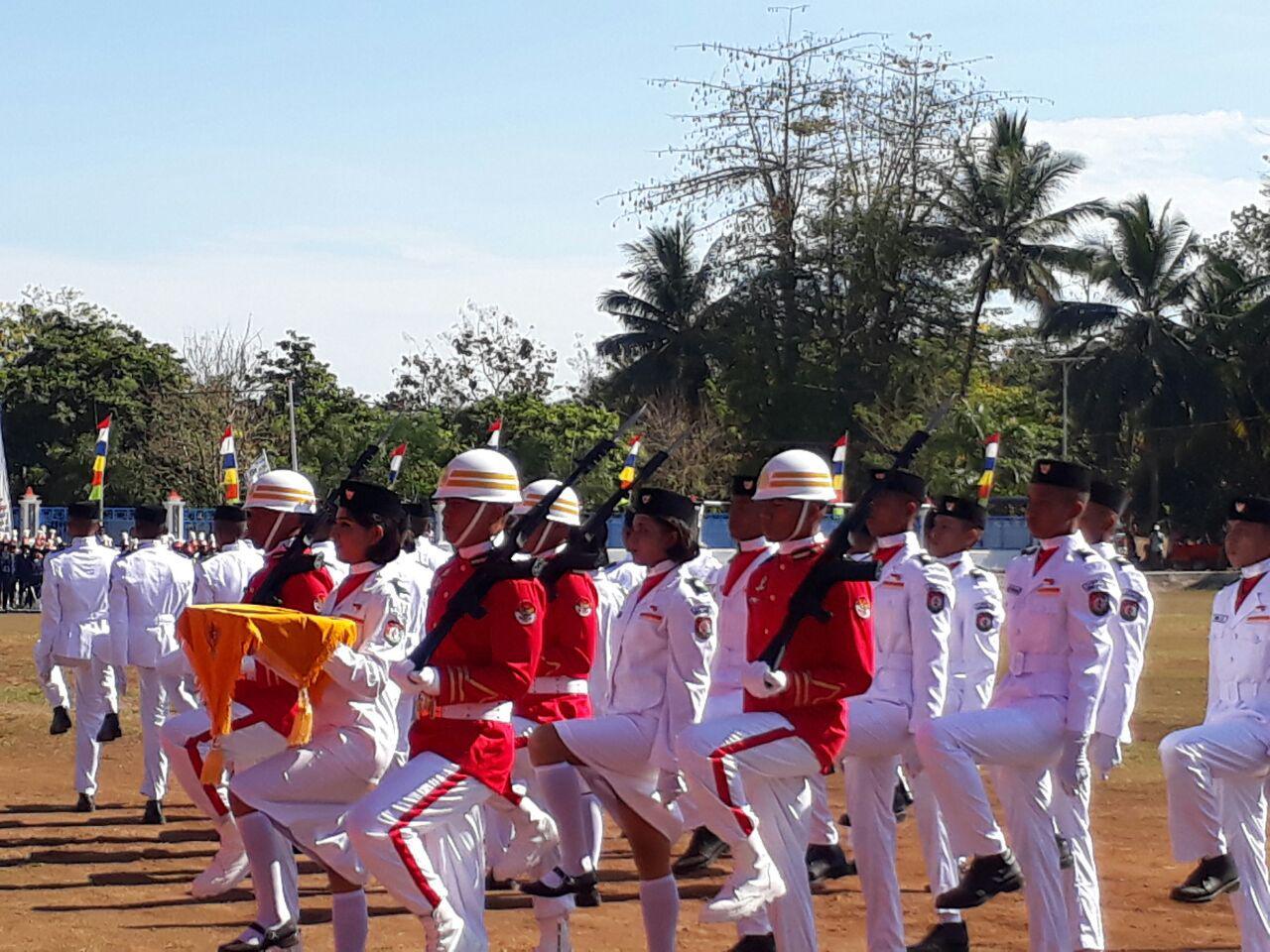Polres Sumba Barat   HUT Ke 72 Kemerdekaan Republik Indonesia
