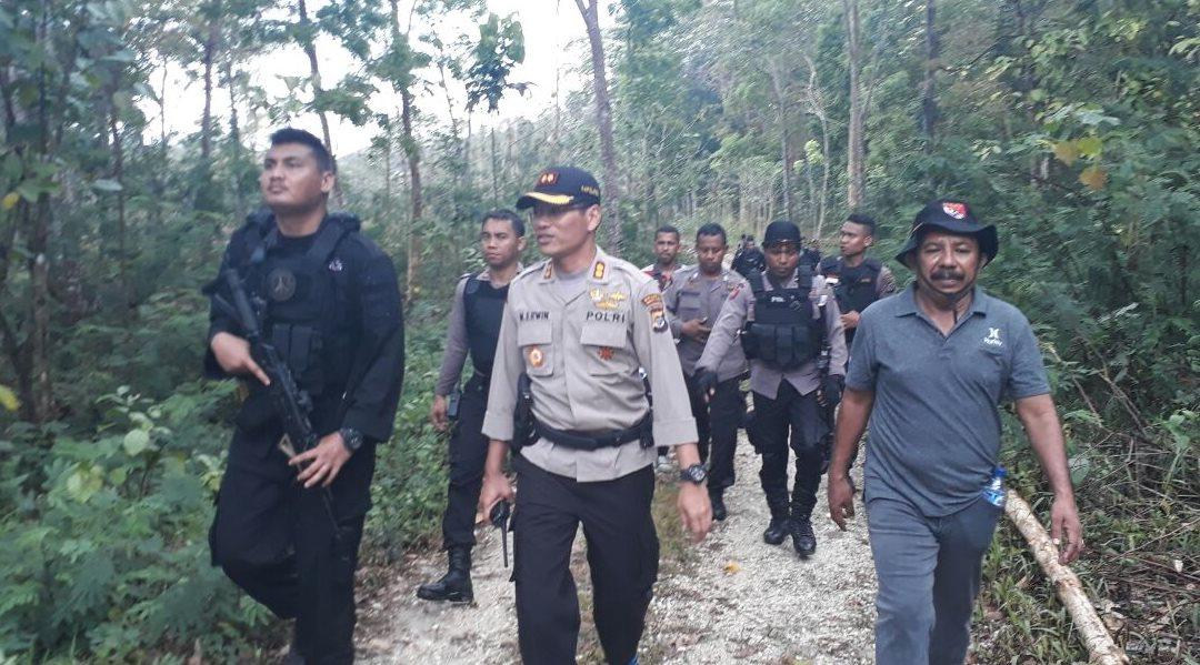 1 Hari Gelar Operasi oleh Pasukan BKO dan Polres Sumba Barat di Kabupaten Sumba Tengah
