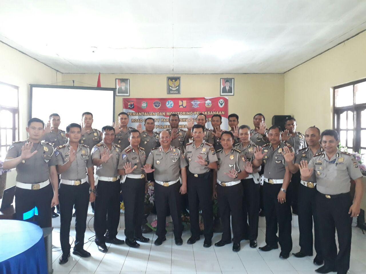 Polres Sumba Barat | 5 Pilar Road Safety Partnership Action (RSPA) Kemitraan Keselamatan