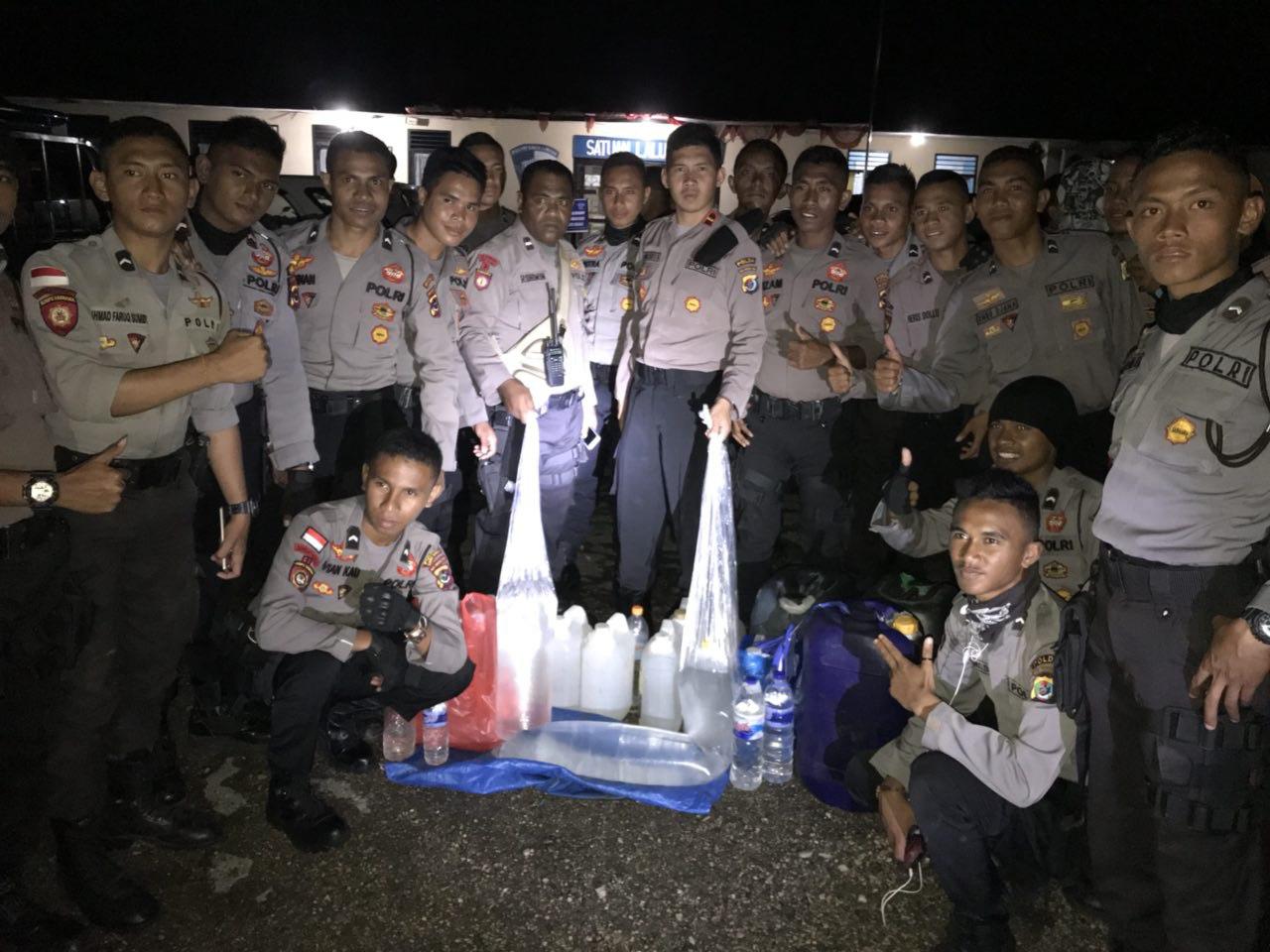 K2YD Beruntun, Malam Ini Kembali 160 Liter Miras Berhasil Disita